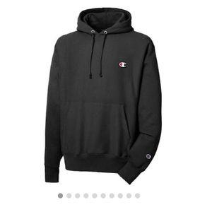 Champion Reverse Weave Hoodie Sweatshirt, Small